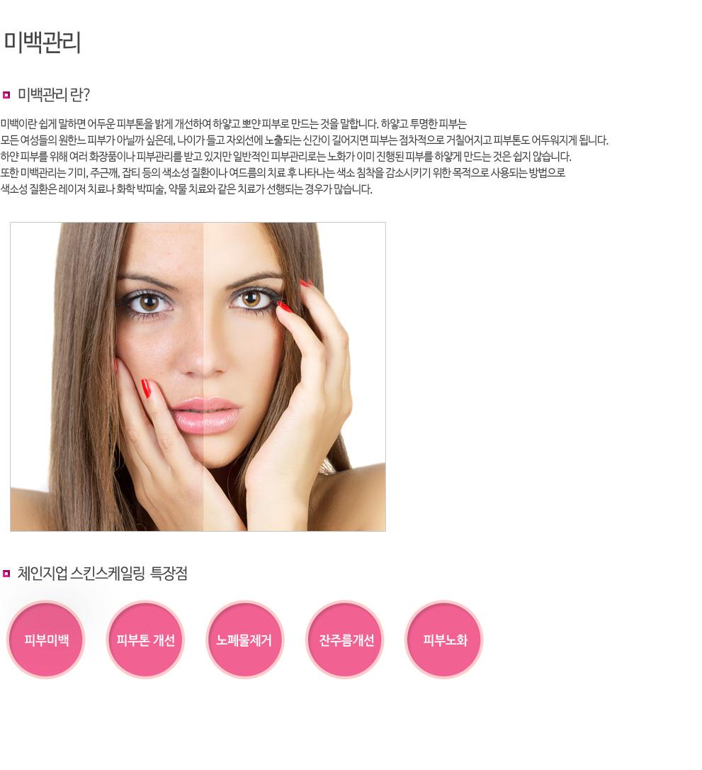 비타민관리:전기 이온영동기기를 이용하여 피부의 비타민C흡수를 증가시키는 방법으로 피부를 관리